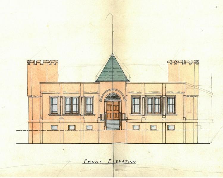 Dean Crescent Boathouse 1906