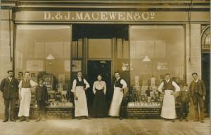 Shop exterior c. 1900