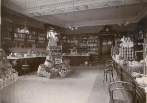 Shop interior c.1900