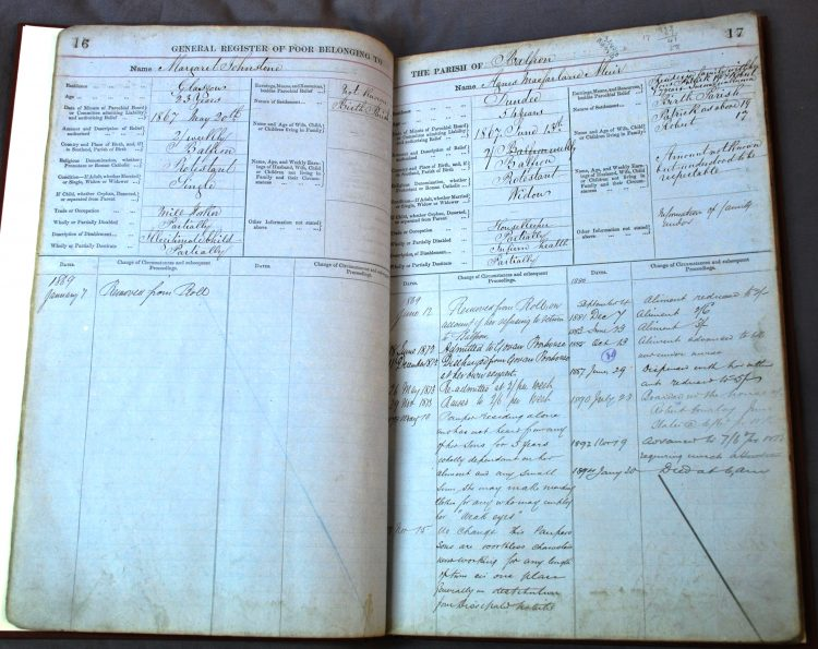 General Register of Poor