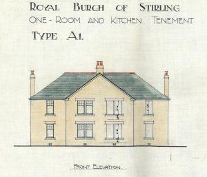 Bannockburn Housing Type 'A1' elevation