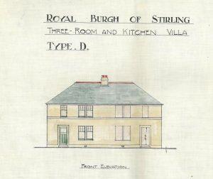 Bannockburn Housing Type 'D' elevation