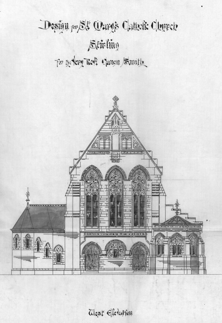 St Mary's Church, Upper Bridge Street, front elevation
