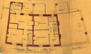 Albany Crescent, 1896, floor plan