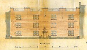 Bridgehaugh tenement, 1911, elevation