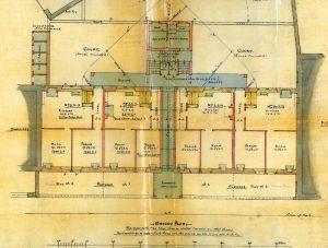 Bridgehaugh tenement, floor plan