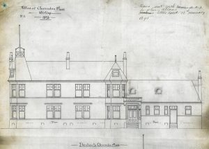 Clarendon Place, 1893 elevation