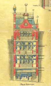 Friar's Street tenement, 1902, elevation