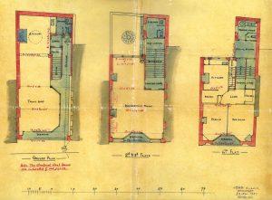 Friar's Street tenement, floor plans
