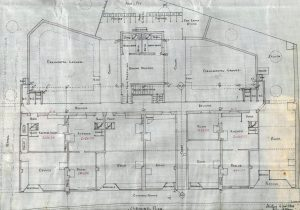 Quakerfield, Bannockburn, floor plan