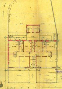 Wallace Street tenement, floor plan