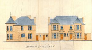Elevation to Glebe Crescent