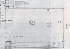 Provost's Pool, ground floor plan