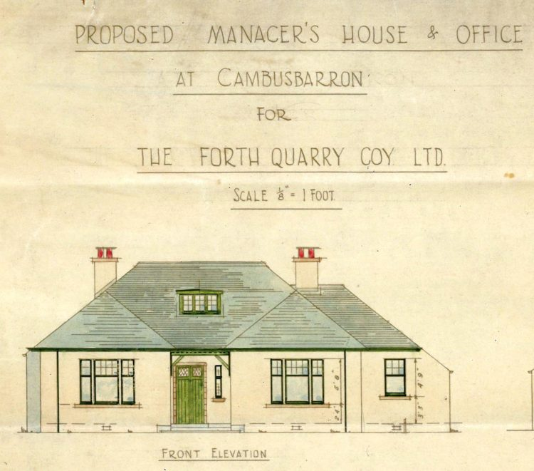 Manager's House, Cambusbarron - Elevation