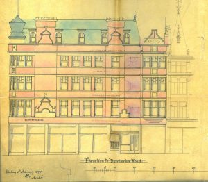 'Wolf Craig' Building, Port Street and Dumbarton Road, 1897