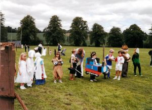 Doune Gala c.1997. Image provided by Rose Ritchie