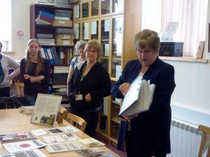 Annie MacSween talking about the archive at Comunn Eachdraidh Nis, Ness