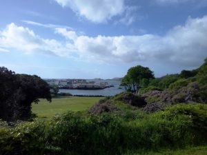 View of Stornoway from Lews Castle, photo by Jennifer Marshall
