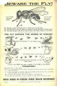 Public Health information poster, 1927