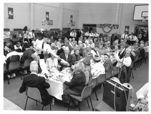 Police pensioners' Christmas party, 1980s