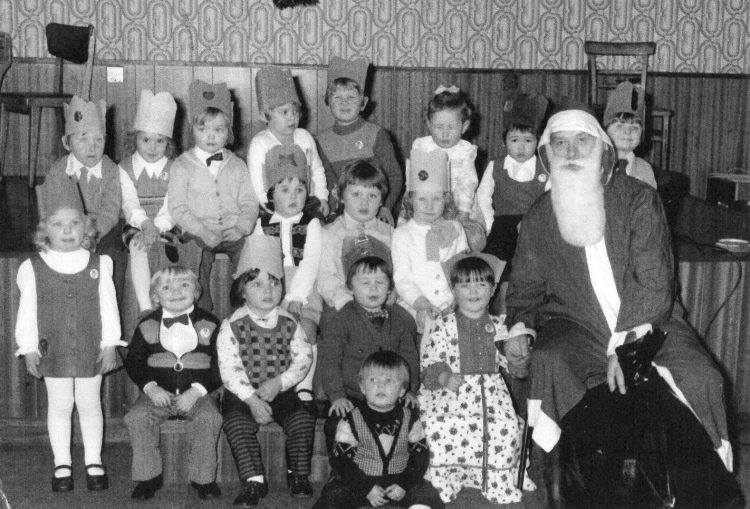 Plean Nursery visit from Santa, c.1970