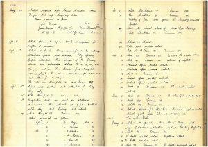 Strathblane school log book December 1939 - January 1940