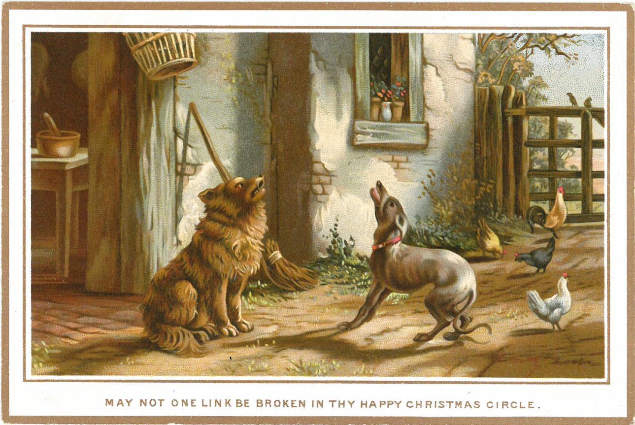 Christmas Countdown: Victorian Christmas cards