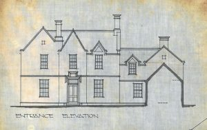 'Coneypark' elevation from alterations done in 1914