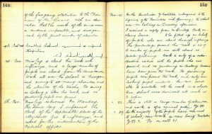 Croftamie School log book 1918