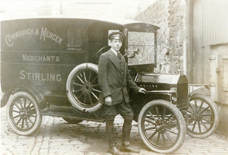 Robert White, delivery driver, 1917