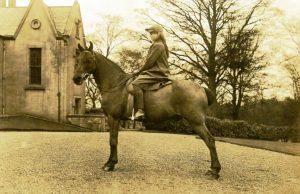 On horseback at West Plean