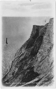 Postcard - view of Beachy Head
