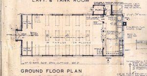 Raploch Primary School dining room floor plan