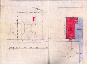Raploch Primary School site plan October 1947