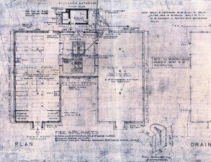 St Mary's School dining room floor plan