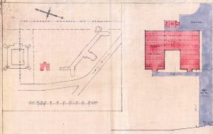 Raploch RC Primary School site plan 1947