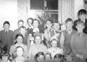 Callander School christmas party c.1920