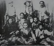 International Brigades members in Spain