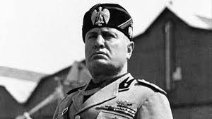 Benito Mussolini Fascist dictator of Italy