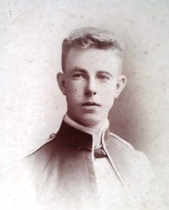 Thomas as a young man c. 1890