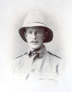 Thomas around the time of the Second Boer War c. 1900