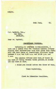 Letter 24 June 1943