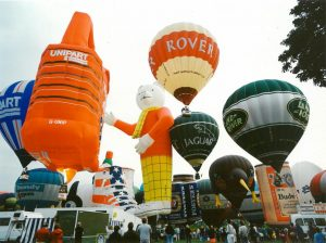 Balloon event, King's Park, Stirling