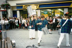Street performers