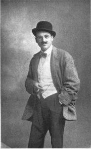 Francis Yeats-Brown in fancy dress