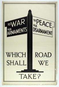 Poster advertising the Peace Ballot