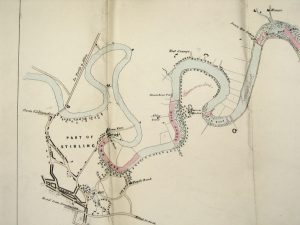 Fishings maps of rights over the River Forth, 19th century