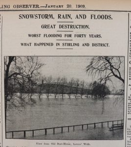 Stirling Observer 20th January 1909
