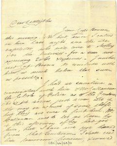 Galbraith to Littlejohn 2nd September 1820