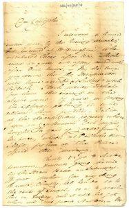 Galbraith to Littlejohn 5th September 1820
